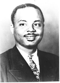 Ollice Maloy, Jr., the first African American assistant district attorney in Texas (Tarrant County).