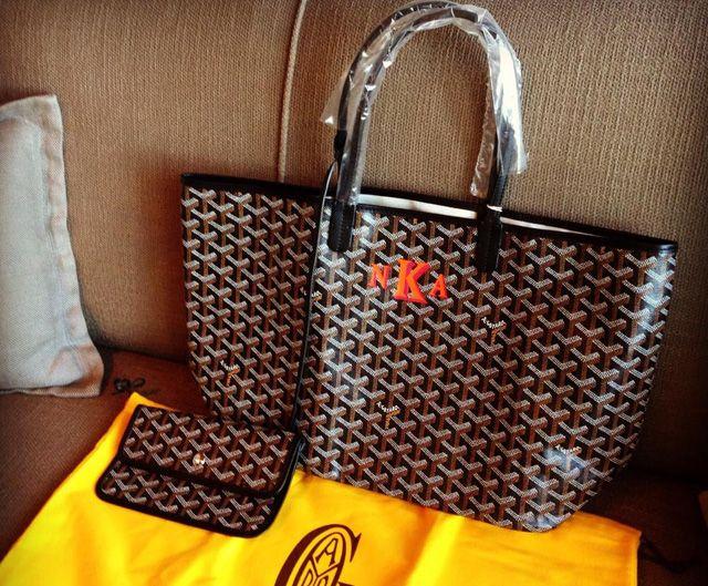Goyard St Louis Tote Monogram Handbags I Love