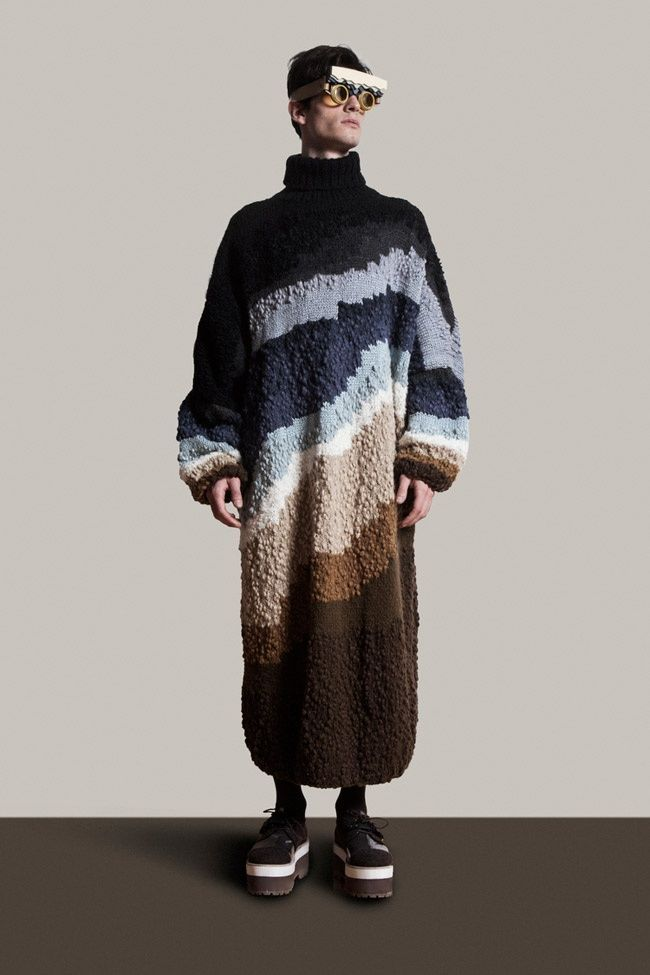 Natural Landscapes - Natural landscapes are the main inspiration behind this Martin Across collection that consists of graphic and sculptural menswear pieces. Titled &#...