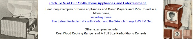 Click To Visit Our Fifties Home Appliances Section