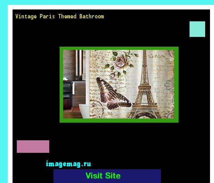 Vintage Paris Themed Bathroom 123918 - The Best Image Search
