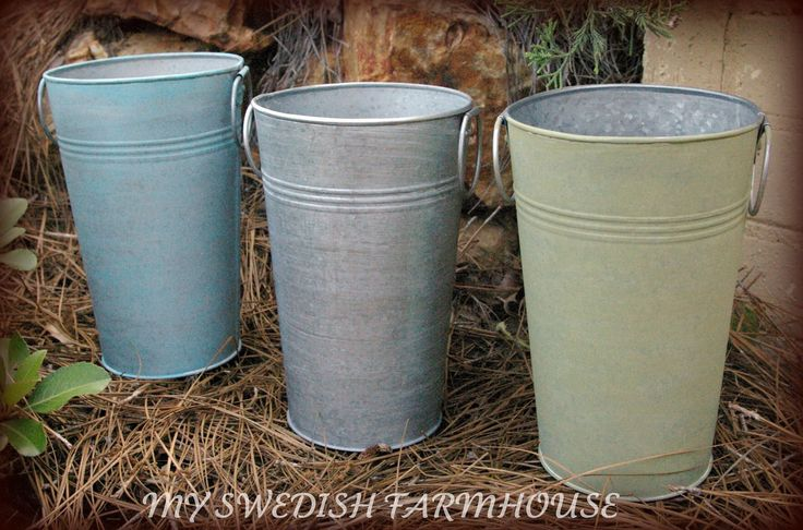 1 French Tall Galvanized Vase/Pail/Bucket your color choice. $15.00, via Etsy.: Galvanized Vasepailbucket, Galvanized Buckets, Galvanized Vase Pail Buckets, Tall Galvanized, Color Choice, Tins Buckets, 15 00, French Tall, 16 95 Sparklers Buckets