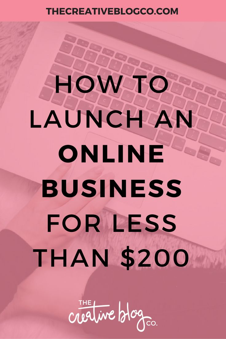 Online Business | Launch Online Business | Business Tips - The Creative Blog Co.