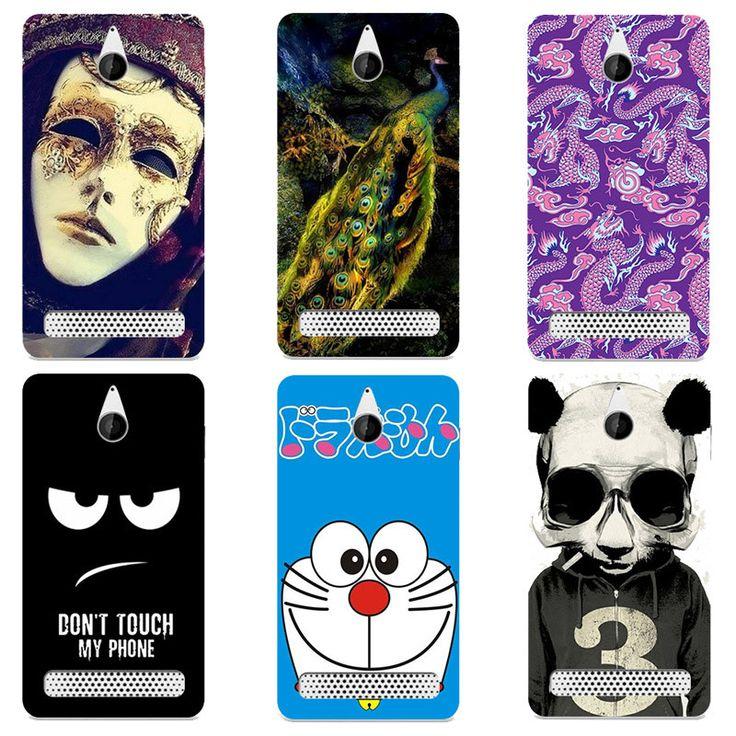 Cute Cartoon Case For Sony Xperia E1 D2004 D2005 E1 Dual D2104 D2114 Cover Hard Plastic Printed Phone Back Shell Capa Funda #Affiliate