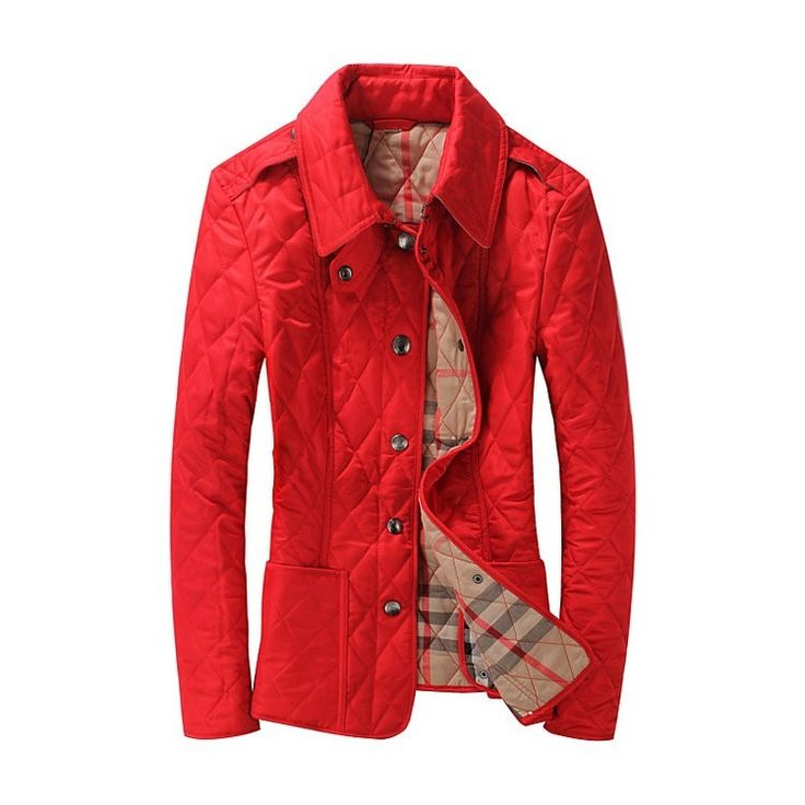 2016 Fashion Womens Winter Autumn Coat Turn-down Collar Slim Jacket Outerwear British Style Plaid Quilting Padded Parkas Branded