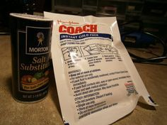 Brewing up gunpowder with householdproducts