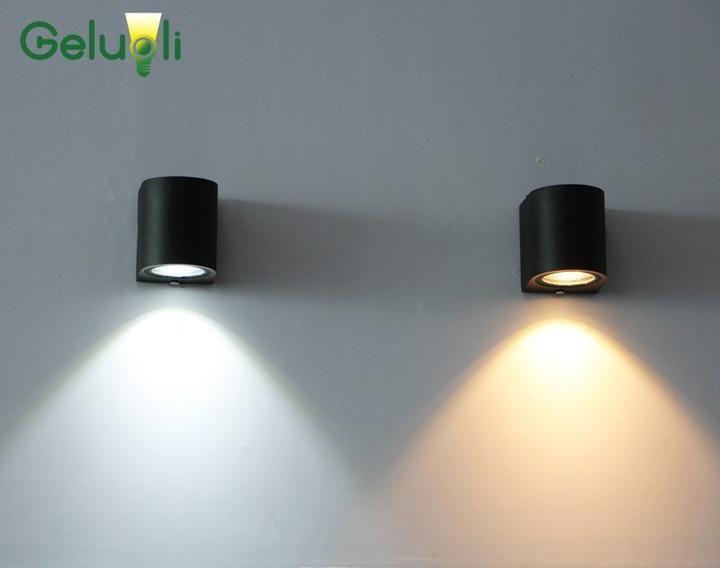 Design Murale éclairage Luminaire extérieur Lampe D/'EXTERIEUR Lampe de jardin LED ALU Lampe Luminaire