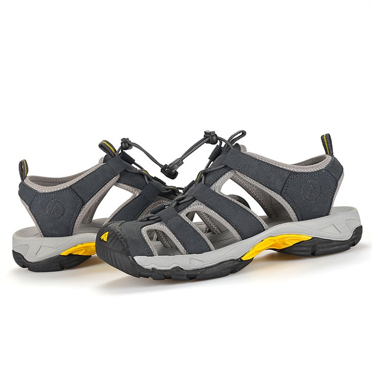 HUMMTO Mens Summer Sports Hiking Trekking Sandals Shoes Sneakers For Men Sport Climbing Mountain Shoes Sneaker Man