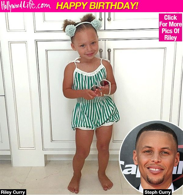 Riley Curry's Birthday: Steph Curry's Oldest Daughter Turns 4 Years Old - Hollywood Life