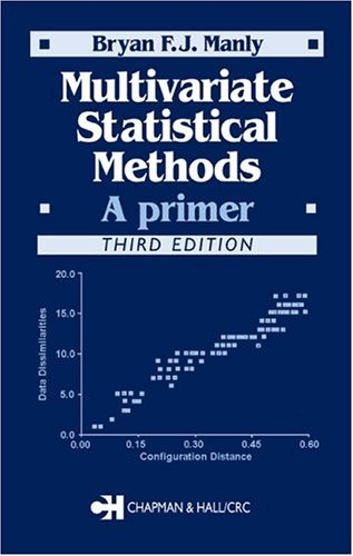 """More a """"love"""" than a """"like"""".     Bestseller Books Online Multivariate Statistical Methods: A Primer, Third Edition Bryan F.J. Manly $55.39  - http://www.ebooknetworking.net/books_detail-1584884142.html"""