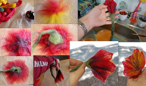 On my blog you will find full instruction and a chance to win this flower. The draw ends next week  the 5th of march.