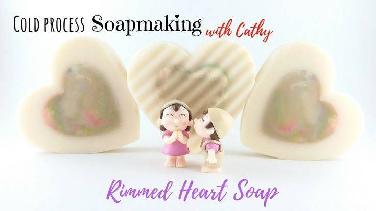 080 Rimmed Cold Process Soap tutorial vertical mold Soap DIY beginners e...