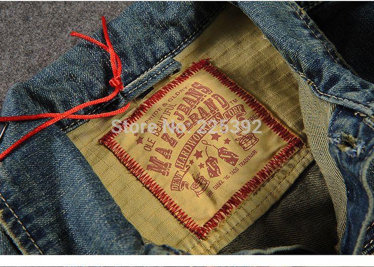 Осень Зима мужская Мода Джинсовой Одежды, мужской Случайные Джинсы 100% хлопок Куртки И Пальто Человек купить на AliExpress