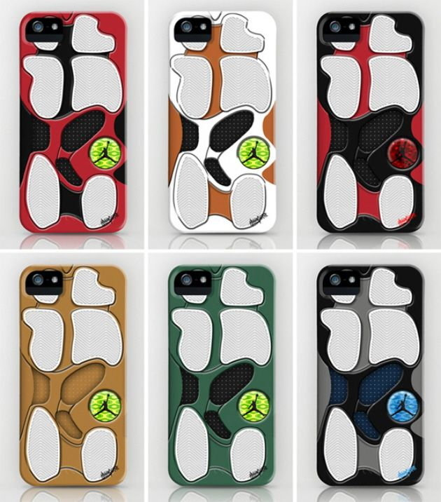 iPhone 5 case - Air Jordan XIII Outsole by LavinPierre FOR ALL THE SNEAKER HEADS! #sneakers #nike