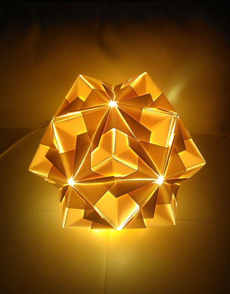 Origami Lamps - Makoto Furuta