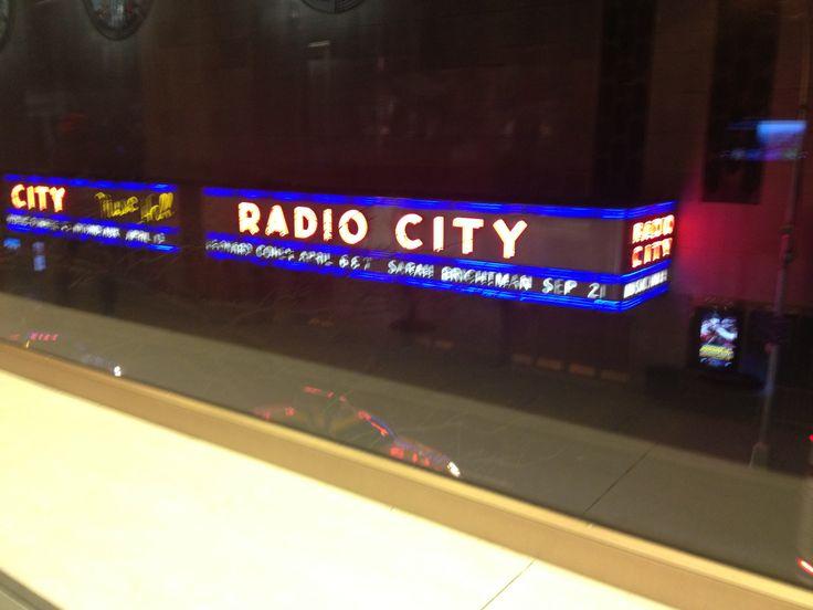 New York, Radio City