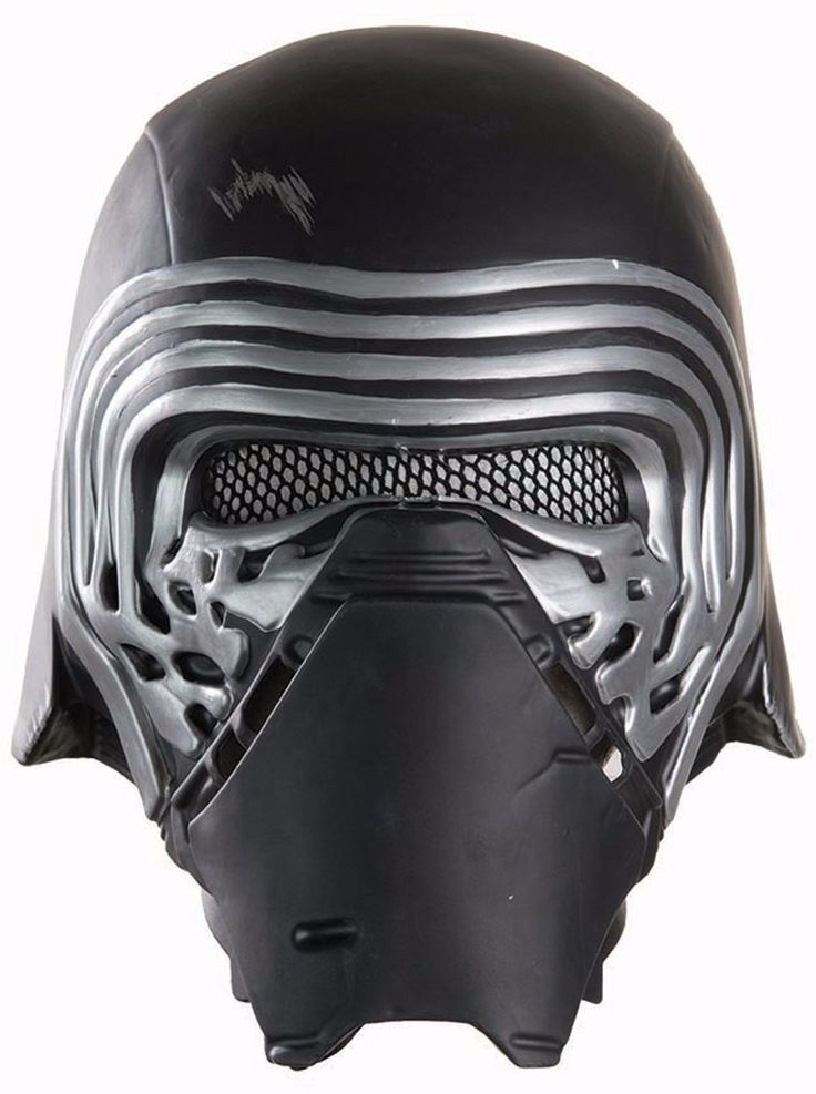 Star Wars Episode VII - Men's Kylo Ren Half Helmet - One-Size - 1 Units