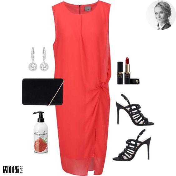 Červené voľné šaty – MODNYSVET