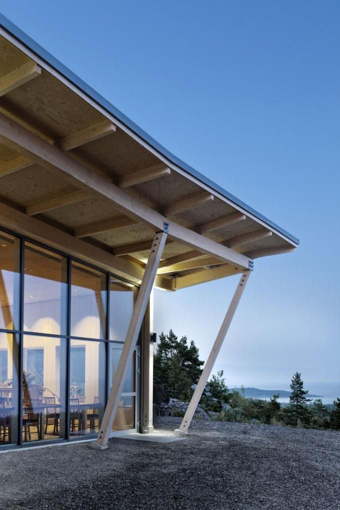 Vista exterior. Restaurante Hemsö por Sverker Cajmatz, Sweco Architects. Fotografia © Tim Meier.