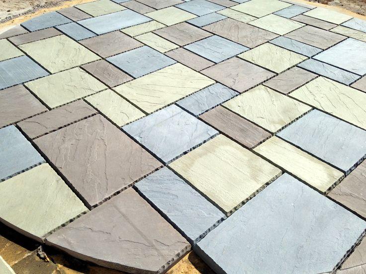 Work In Progress, Round Patio Hardscape By Premier Patios U0026 Walks #patio