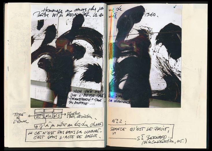 Fabienne Verdier notebooks - Carnet Foundation H. Looser