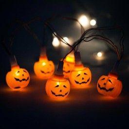 Pumpkin Lights 10 Pack #poundlandhalloween