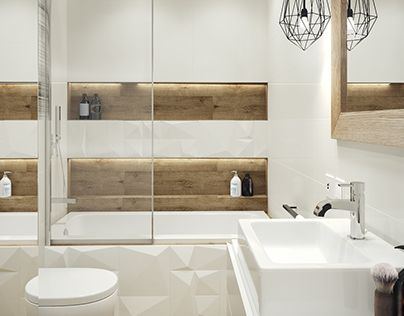 Cosy, elegant and functional bathroom which is only 4,5m2.