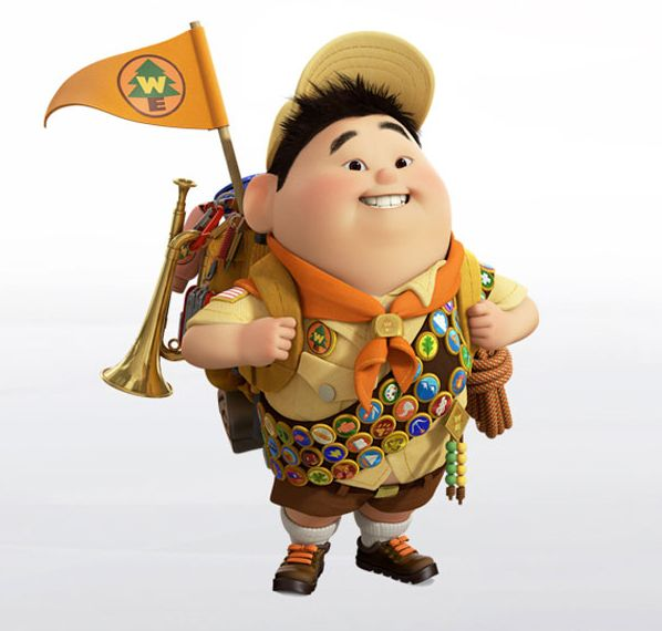 """""""That might sound boring, but I think the boring stuff is the stuff I remember the most."""" Russell from Up"""