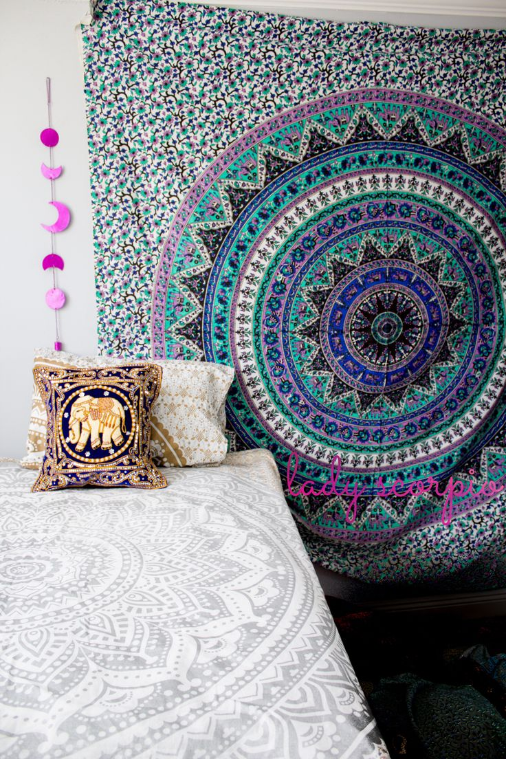 ☽ ✩ Save 25% off all orders with code PINTERESTXO at checkout   Bohemian Bedroom + Home Decor   Mandala Tapestries, Pillows & Wall Hanging Decor + Twilights by Lady Scorpio   Shop Now LadyScorpio101.com   @LadyScorpio101   Photography by Luna Blue @Luna8lue