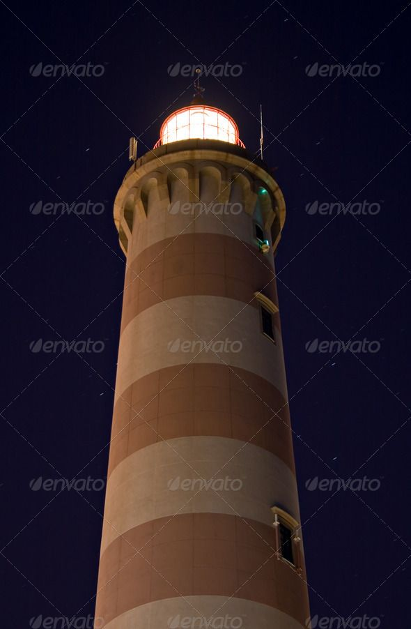 Lighthouse in Aveiro in Portugal