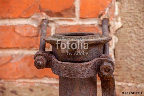 """Laden Sie das lizenzfreie Foto """"Rohranschluß"""" von Photocreatief zum günstigen Preis auf Fotolia.com herunter. Stöbern Sie in unserer Bilddatenbank und finden Sie schnell das perfekte Stockfoto für Ihr Marketing-Projekt!"""