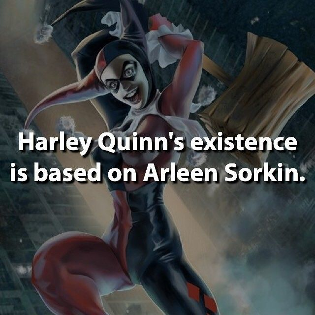 "Arleen Sorkin, the original voice of Harley Quinn. She established the character and made her into a unique villain and perfect sidekick to ""The Joker"". Harley is part brilliant analyst and part ditzy-psycho. A combination that opens up many possibilities for her behavior to be unpredictable, much like The Joker, himself. A love affair fashioned in Hell. - Visit now to grab yourself a super hero shirt today at 40% off!"
