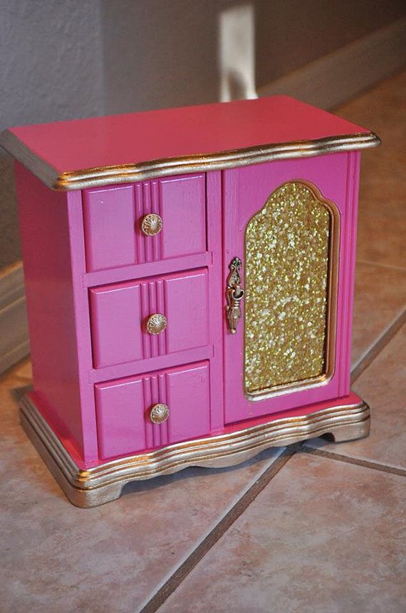 Stand Alone Jewelry Box Extraordinary 202 Best Jewelry Box Refashioned Images On Pinterest  Jewel Box Decorating Inspiration
