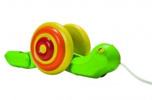 Plan Toys - Ślimak do ciągnięcia
