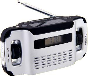 POWERplus Lynx är en batterifri AM/FM-radio som drivs av solcell och dynamovev. Lynx har även inbyggd LED-ficklampa. Kan även användas för att ladda mobiltelefoner.