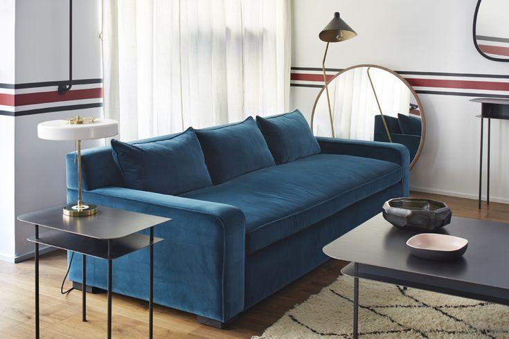 17 meilleures images propos de le bleu sarah sur pinterest design de bureau domicile. Black Bedroom Furniture Sets. Home Design Ideas