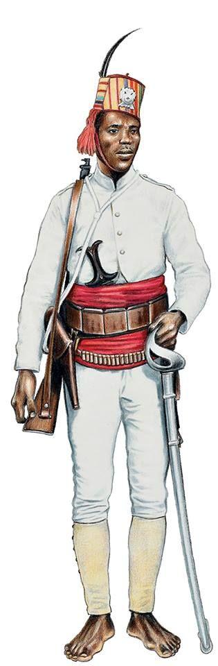 """Regio Esercito - Ascaro Eritreo """"Penne di Falco"""", truppe coloniali del Regio Esercito ."""