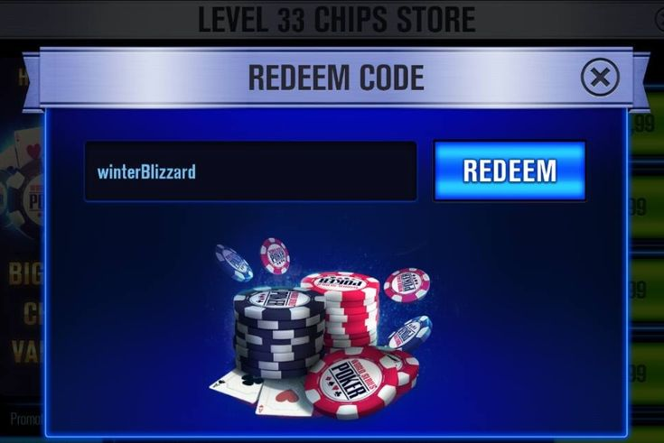free wsop redeem codes 2019 | world series of poker, app