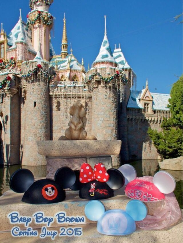 My pregnancy announcement - Pinterest inspired! Disneyland announcement for second baby!