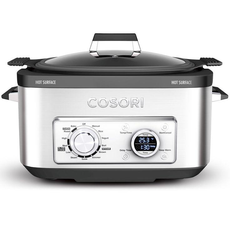 Cosori 6 qt 11in1 programmable multicooker pot slow