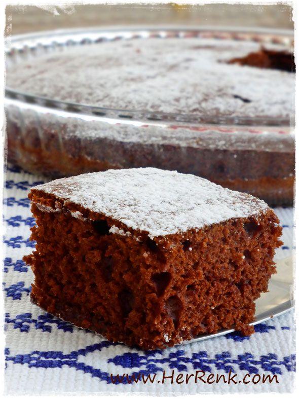 Tepside Klasik Kakaolu Kek-tepside kolay kek,kek tarifleri,kek kabarmıyor,kek neden kabarmaz,kek nasıl yapılır,kek,cake,kakaolu kek,kakaolu kek yapılışı,kek yapımı,