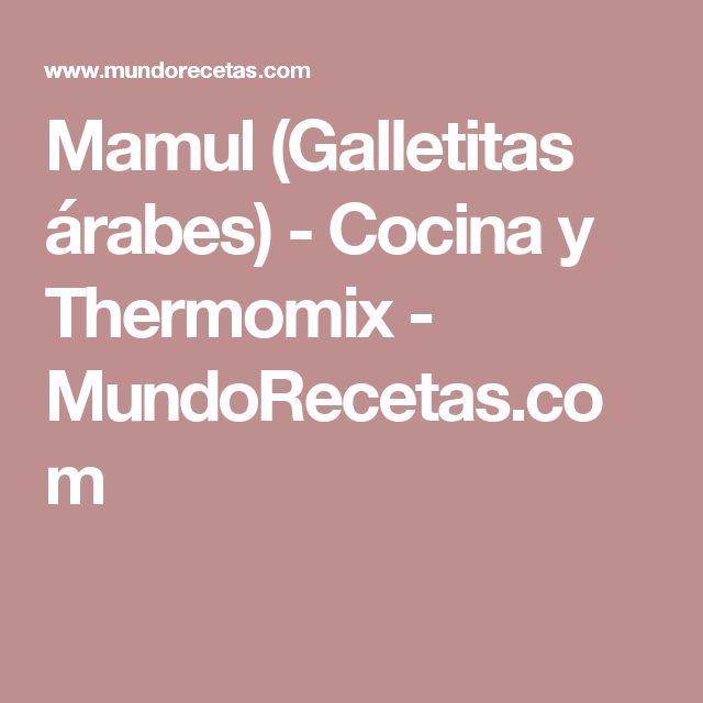 Mamul (Galletitas árabes) - Cocina y Thermomix - MundoRecetas.com