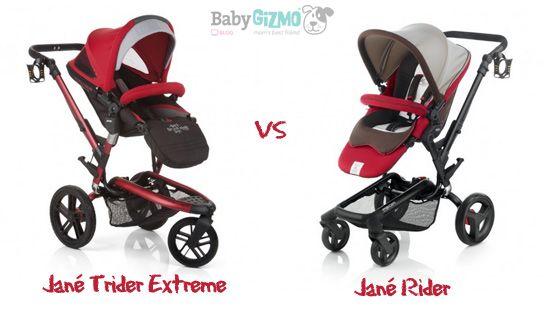 Jane Trider Extreme vs Jane Rider Comparison Video - Baby Gizmo Blog