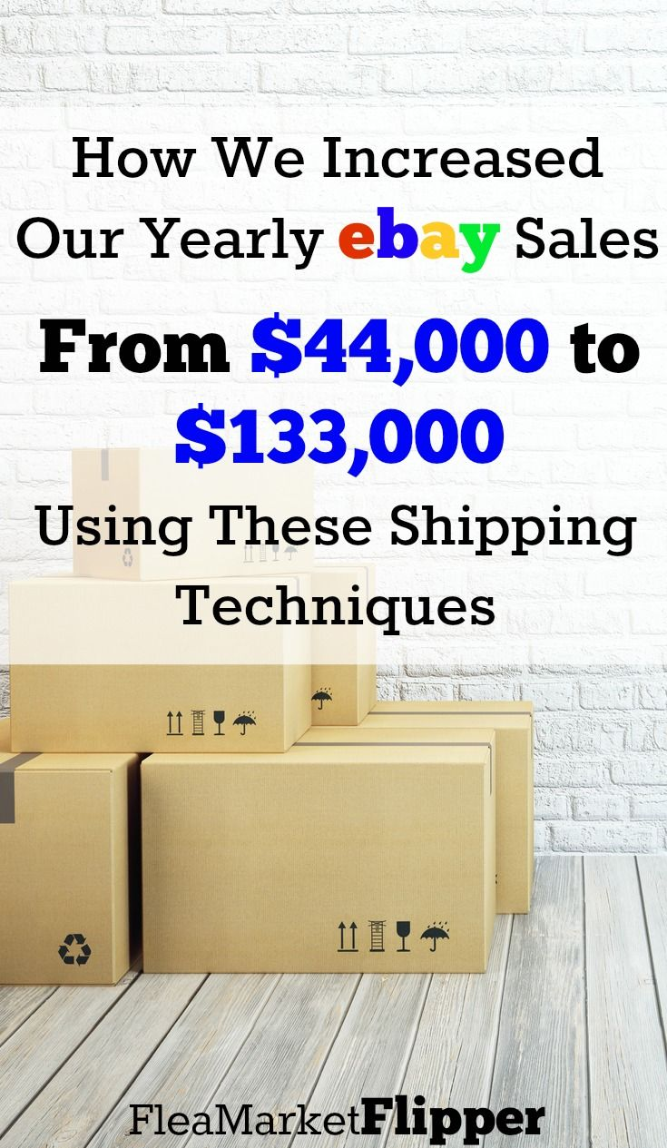 Shipping items for eBay or Amazon is something that stops a lot of people from making more money. Shipping larger items last year helped us triple our income. It doesn't have to be as scary as people think it is. It can be done by most people. Check out this ebook full of how to package & ship to help increase your sales profits!