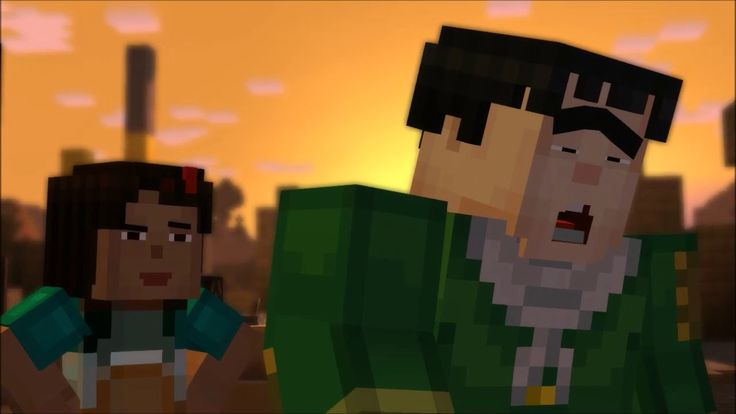 Minecraft:Story Mode The order of the stone Episode1 {No.7-{7-7 Video}