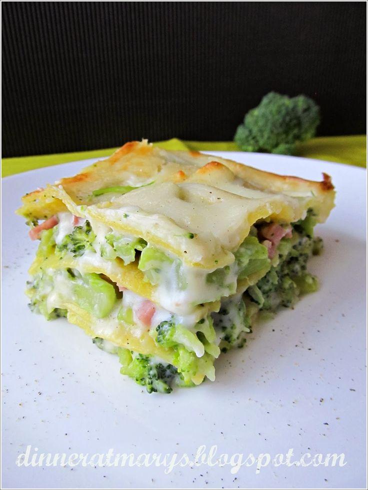 Lasagne con broccoletti