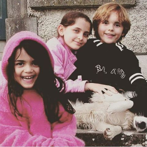 From left to right Blanket, Paris, and Prince Jackson