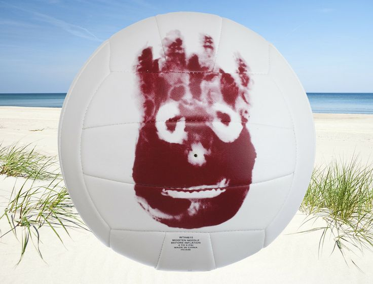 Mr+Wilson+Cast+Away+Volleyboll+-+kopia+av+bollen+från+filmen!