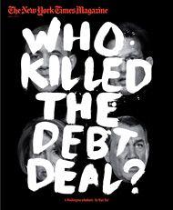 Washington Politics killed the Debt Deal.