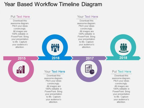 59 best Creative Powerpoint images on Pinterest Technology - project timeline template
